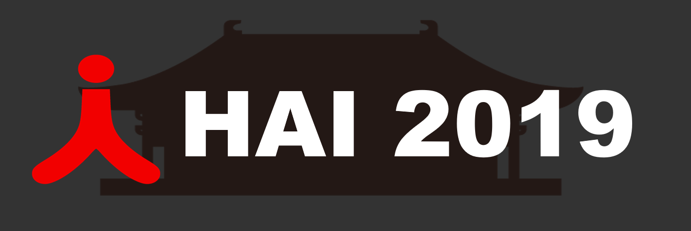 HAI 2019 (7th Annual International Conference on Human-Agent Interaction)